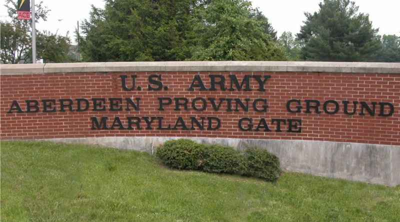 Army Aberdeen Proving Ground
